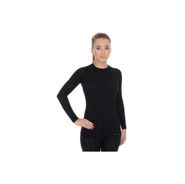 Sieviešu garroku krekls BRUBECK Active Wool